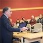 NYC Real Estate Developer Harry Macklowe Visits Campus