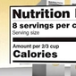 FDA: Food labels getting a makeover