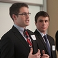 Students balance bottom line and social responsibility in ethics competition